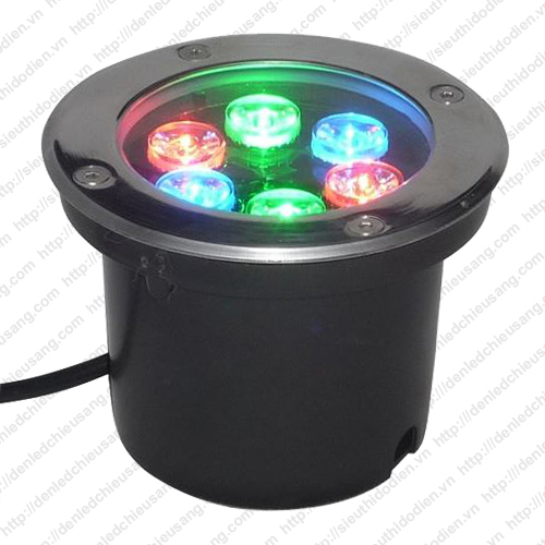 Đèn LED âm đất 6W RGB Maxlight ML-LED-06-RGB