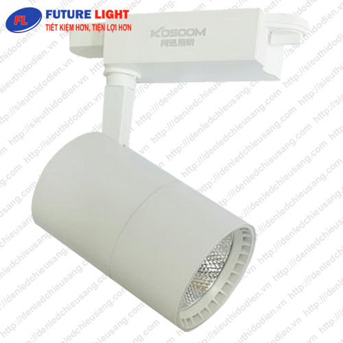 Đèn LED gắn ray 30W chip COB Kosoom R-KS-30-T