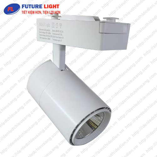 Đèn LED gắn ray chip COB 12W Maxlight ML-20050-12