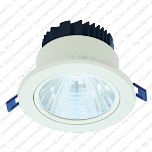 Đèn LED âm trần 15W chip COB MaxLight LED COB 261/15W