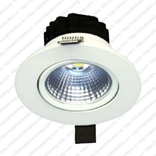 Đèn LED âm trần 5W chip COB MaxLight LED COB 261/5W