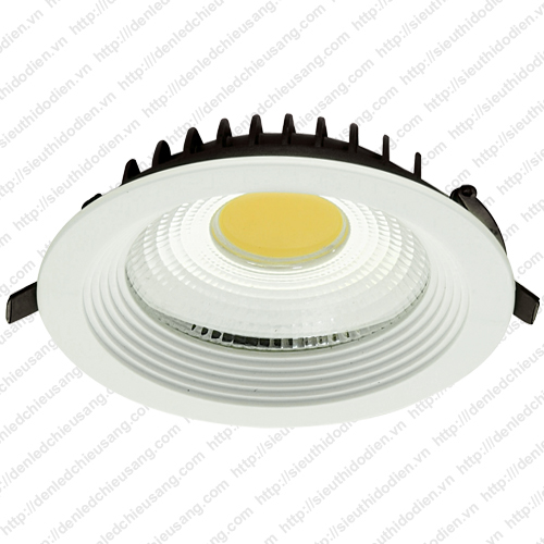 Đèn LED âm trần MaxLight 18W chip COB ML 605 COB/18W