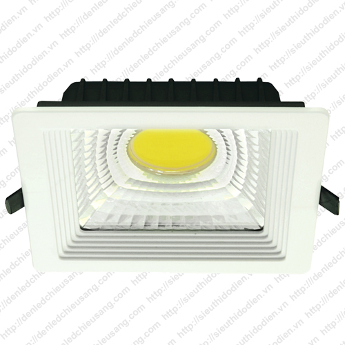 Đèn LED âm trần MaxLight 12W chip COB ML 606 COB/12W