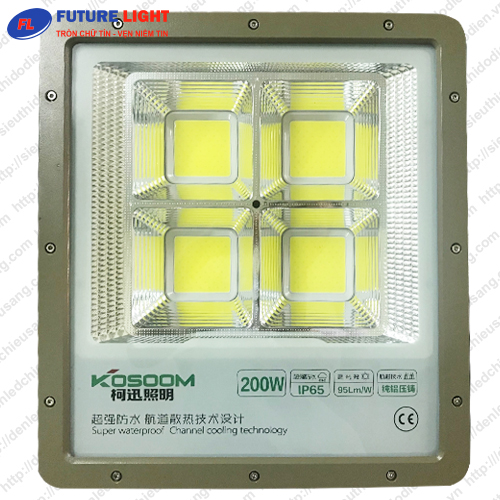 Đèn pha LED KOSOOM 200W chip COB PH-KS-200