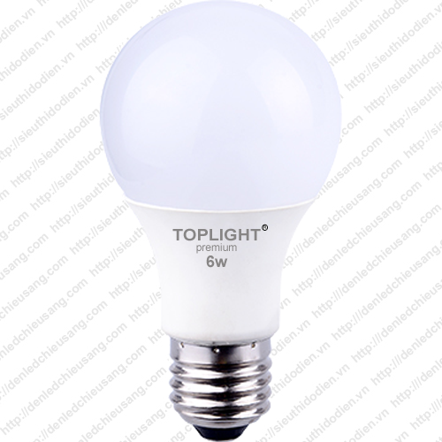 Bóng đèn LED TopLight 6W - BE27-06T-2